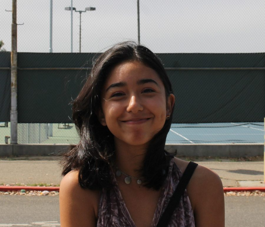 Senior Angela Martinez. Photo by: Hannah Lee