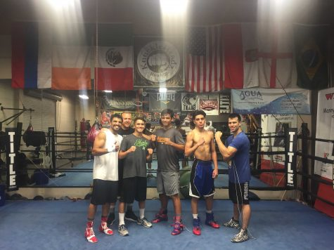 Oritz, Hoss, and Gonzales and other Knucklehead members all spar train together to build a family in their gym.