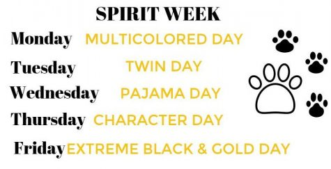 Here are the following days for Spirit Week next week. Make sure to tag The Cougar Press in your best spirit day photos for a chance to win the Spirit Week Photo Contest.