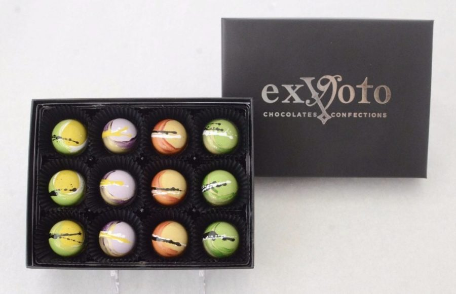 ExVoto recommends you eat you're chocolates within two weeks of purchase, as they are made fresh. Photo by: Ex Voto