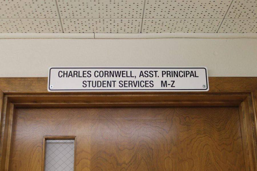 Cornwall's office is where the suspensions happened. Photo by: Sarah Clench