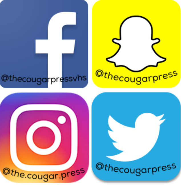 Social media logos pictured.  Photo by: Sarah Clench