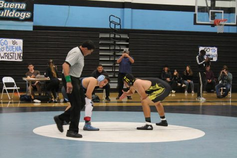 Ventura Vs. Buena Wrestling Duel-Photo Story
