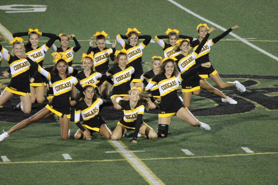 Photo Story: Ventura cheerleaders fly out of the football season