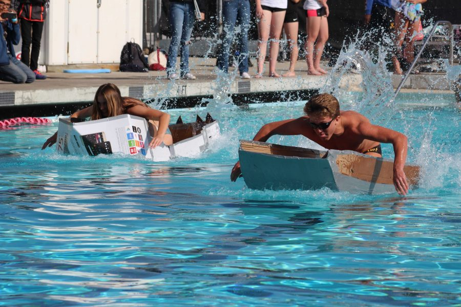 Photo story: Cardboard boat races