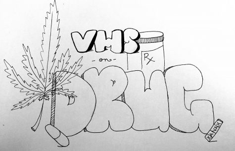 How do drugs affect VHS students?