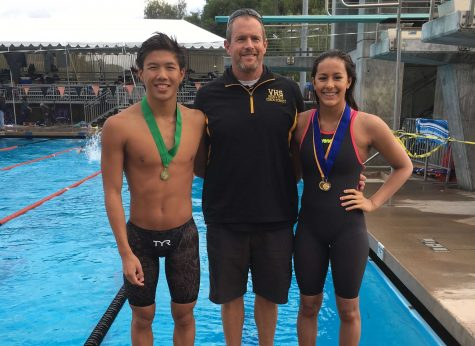 Two VHS swimmers qualify for CIF