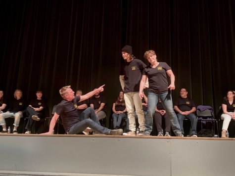 Teachers embrace their inner comedians at the 6th annual teacher improv show