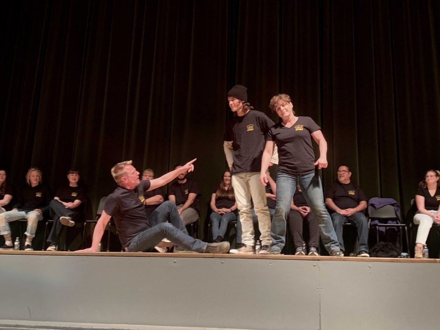 Teachers embrace their inner comedians at the 6th annual teacher improv show