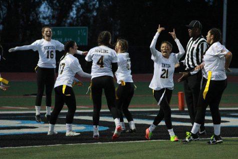 Photo Gallery: VHS Powder Puff football defeats rival team