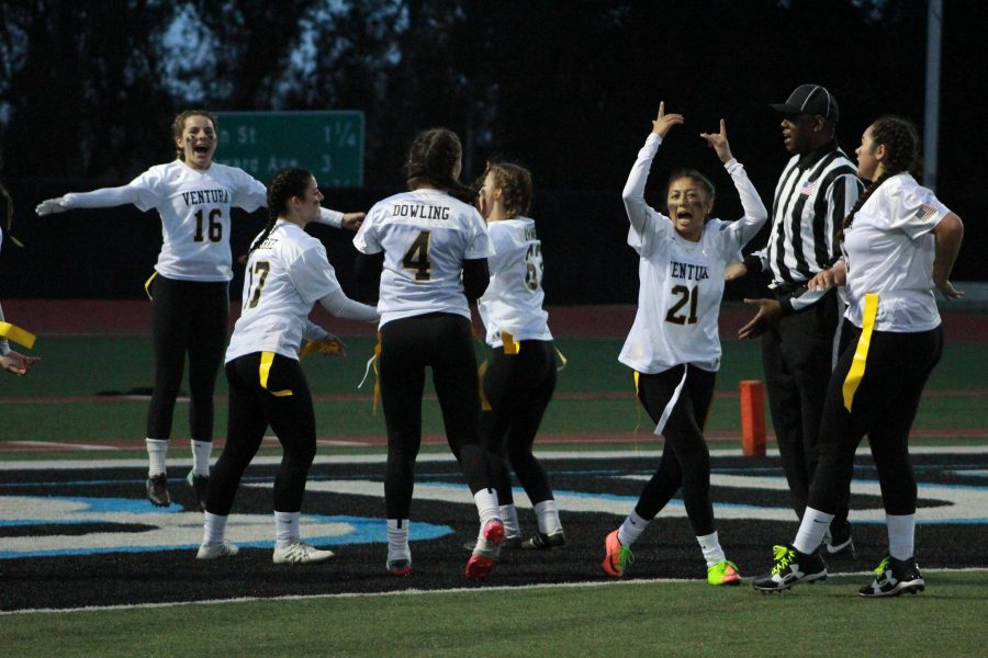Photo Gallery: VHS Powder Puff football defeats rival team