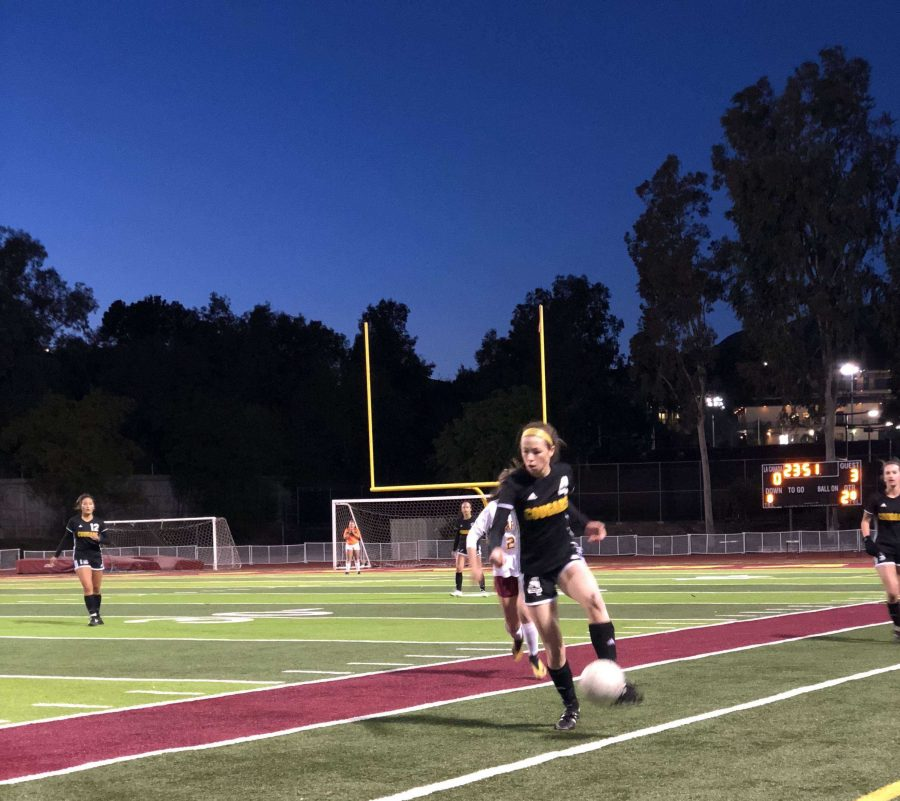 Girls soccer: kicking off CIF