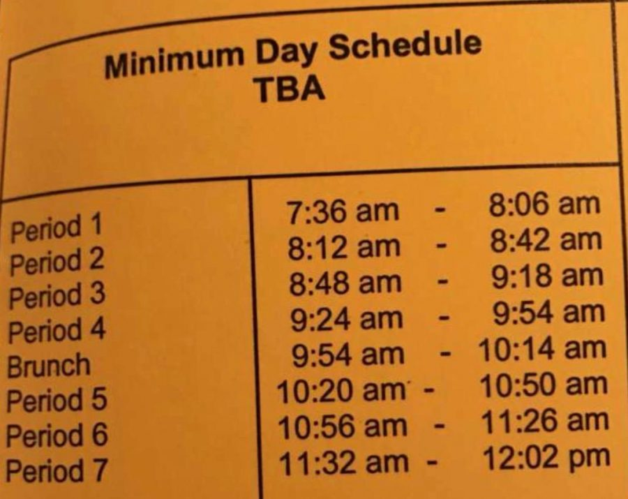 Weather hazards shift VHS students' schedule