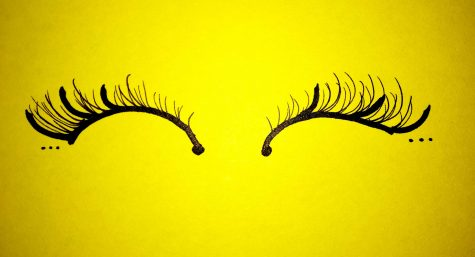 The extent of eyelash extensions