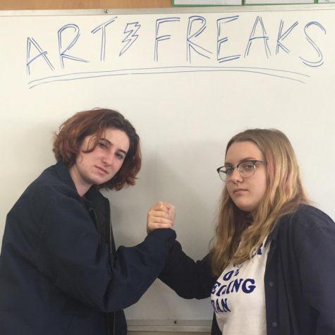 Kai Torres and Alicja Fowler, Art Freaks hosts
