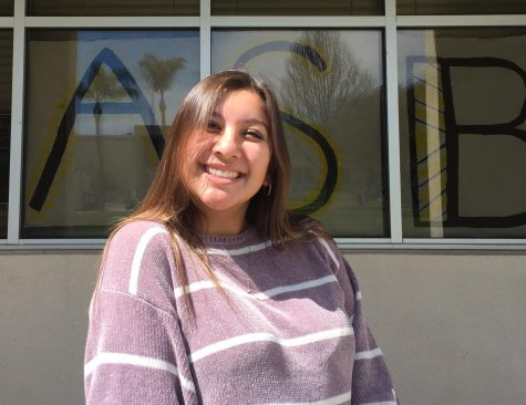 Senior Janelle Chavira has been in ASB all four years of high school. Photo by: Marea Gordon