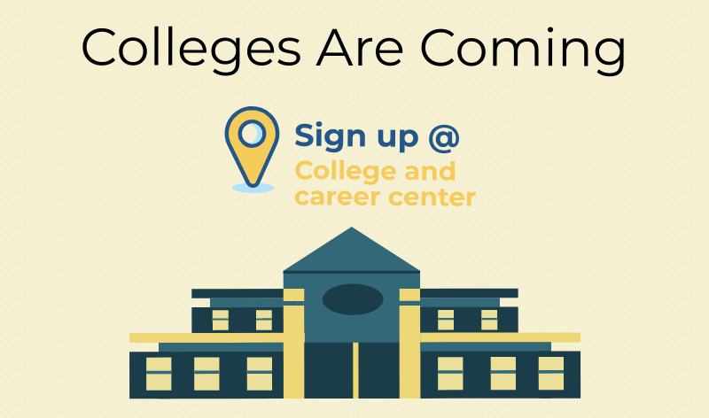Colleges+coming+to+the+college+and+career+center