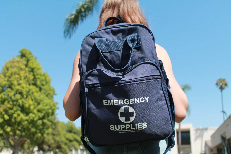 All+classrooms+on+campus+are+equipped+with+a+%27Safety+Wall%27+and+emergency+supplies.+Photo+By%3A+Acacia+Harrell