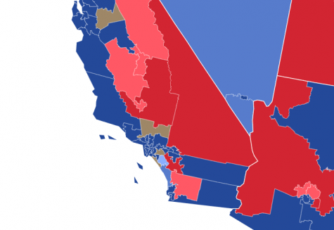 While Ventura proper has no competitive Congressional races, Democrats appear poised to make gains in several Republican-held districts across Southern California. (Photo by: Sam Coats via 270towin)