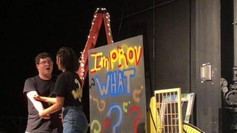 """The Backstage Café"" Improv video"