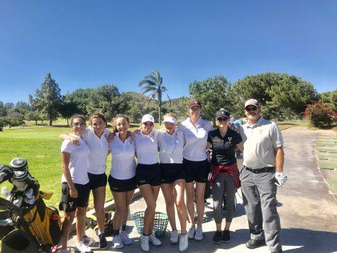 Girls golf makes school history