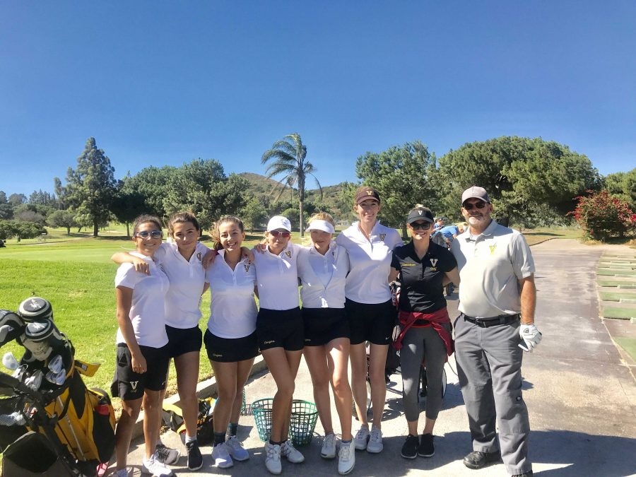 Girls golf makes school history