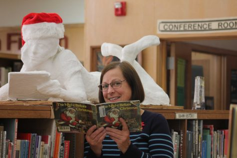 Susan Adamich, librarian at VHS, explained that she participates in these types of shows because she