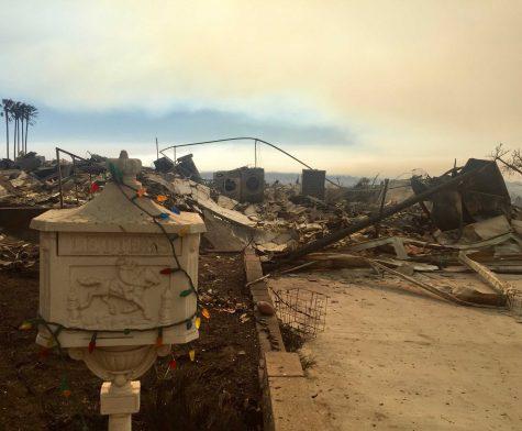 Senior Shira Zaid lost her home in the Thomas Fire. Zaid said,