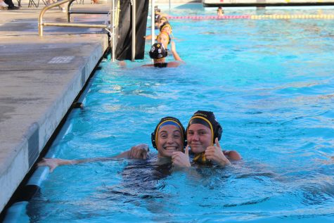 Girls water polo slams Oxnard 12-7 in varsity game