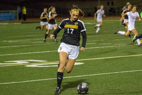 """I'm proud that she keeps pushing herself to always try to do more and be better,"" stated Todd Tackett, VHS Girls Varsity Soccer coach. Photo by: Felix Cortez"