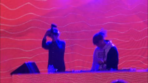DJ, Ghastly, performing at The Heineken House during Weekend 1. Photo by: Summer Yovanno