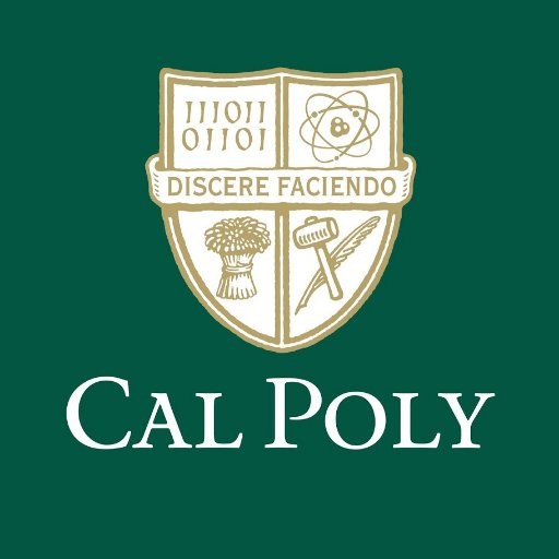 This is he school seal of Cal Poly. Source: Cal Poly Website