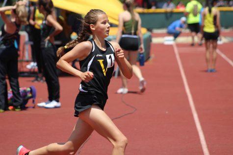 Girl power: Madeline Locher locks in new record