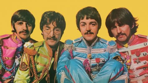 Picture of The Beatles in their