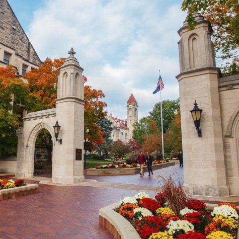 Picture of The University of Indiana in the fall. Source: University of Indiana Website