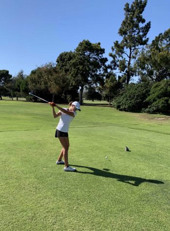 Girls golf swings into season