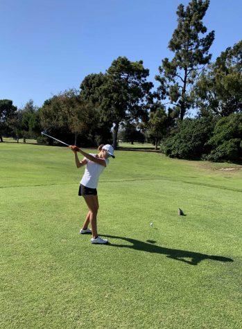 Girls golf swings into season