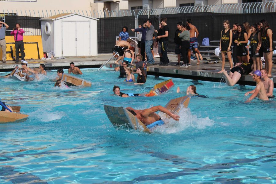 Take+a+deep+dive+into+Ventura+High+Schools+annual+cardboard+boat+races