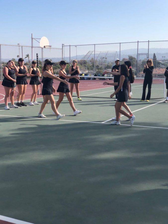 That's a wrap, girls tennis!