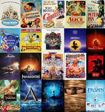 From Snow White and the Seven Dwarfs to Frozen 2, you can access all your Disney favorites in one place. Image from: Flickr