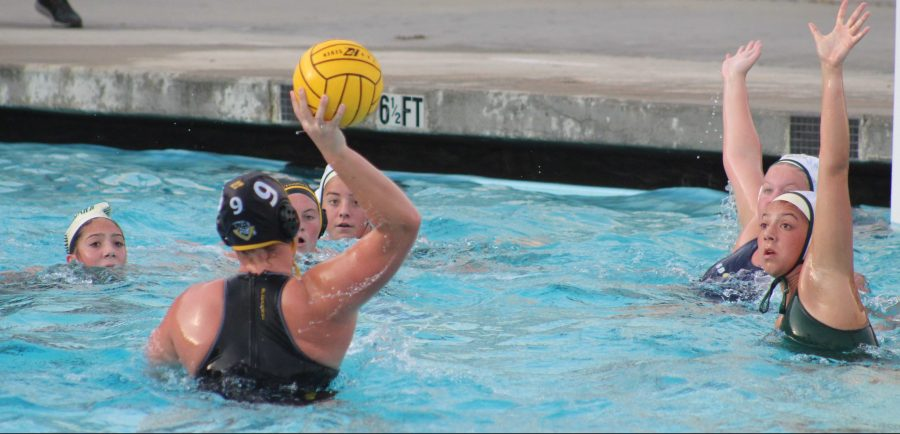 Girls water polo went head to head with Santa Barbara High