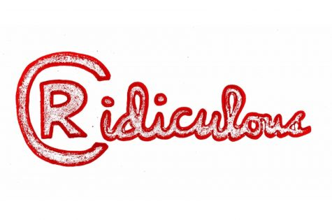 "The ""Ridiculous"" logo. Drawing by: Peyton Redmond"