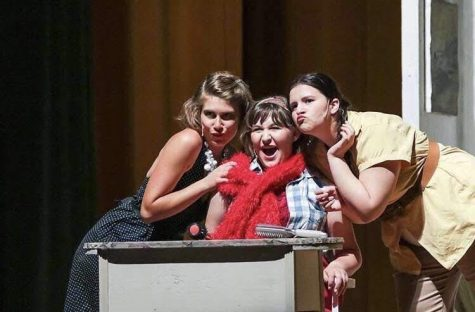 Mamma Mia was well received and memorable play. Photo from: Ashlynn Vaglica