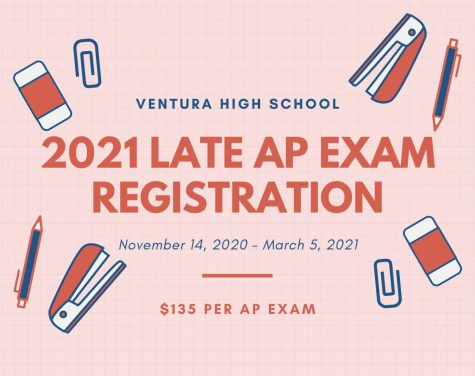 The regular AP exam registration has officially closed. There is now a $40 late fee in place. Infographic by: Greta Pankratz