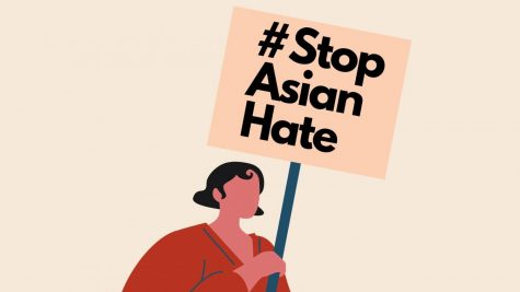 Infographic style images, such as the one above, have been used on social media to spread awareness about Asian  hate. The hashtag #StopAsianHate has over 460K tags on Instagram alone. Graphic by: Sophia Nacu