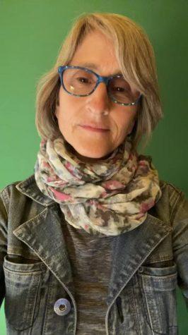 Kadie Karen Diekmeyer, or @thatveganteacher, on TikTok. She describes herself as an animal rights activist and is a former teacher. Photo by: Rowan Munoz