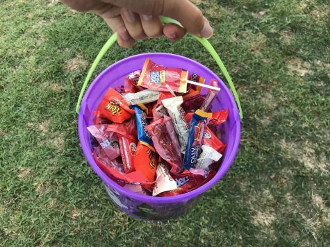 This Halloween candy looks like your traditional treats, but will they turn out to be tricks? Photo by: Belen Hibbler