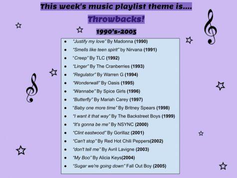 Throwback playlist