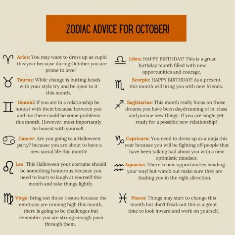 Zodiac Advice for October