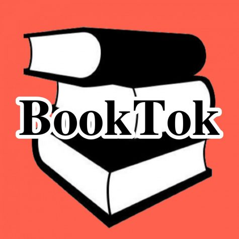 Many BookTok users create various things to celebrate milestones in the community or to express their love for it. The pink was chosen for the background because its a color that is associated with kindness which is what many users say describes the community. Graphic by: Tyler Lopez